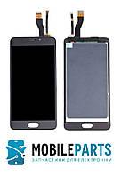 Дисплей для телефона Meizu M5 Note (M621) с сенсорным стеклом (Черный)  Оригинал Китай