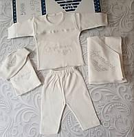 Комплект Armani на выписку, в роддом, на крещение, фото 1