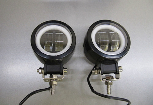 Дополнительные LED фары GV-20W СТГ круглые-2шт.(8775)