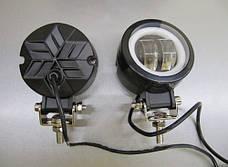 Дополнительные LED фары GV-20W СТГ круглые-2шт.(8775), фото 2