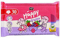Детские влажные салфетки 30 шт Хеппи с экстрактом клубники и черники Bella Baby Happy