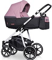Детская универсальная коляска 2 в 1 Riko Swift Natural 01 Scarlet