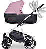 Детская универсальная коляска 2 в 1 Riko Swift Natural 01 Scarlet, фото 2