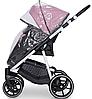 Детская универсальная коляска 2 в 1 Riko Swift Natural 01 Scarlet, фото 4