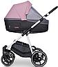 Детская универсальная коляска 2 в 1 Riko Swift Natural 01 Scarlet, фото 5