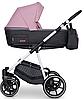 Детская универсальная коляска 2 в 1 Riko Swift Natural 01 Scarlet, фото 6