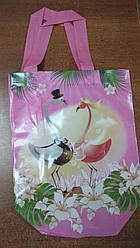 Эко-сумка с ручками ''Розовая'', 23*30,5 см