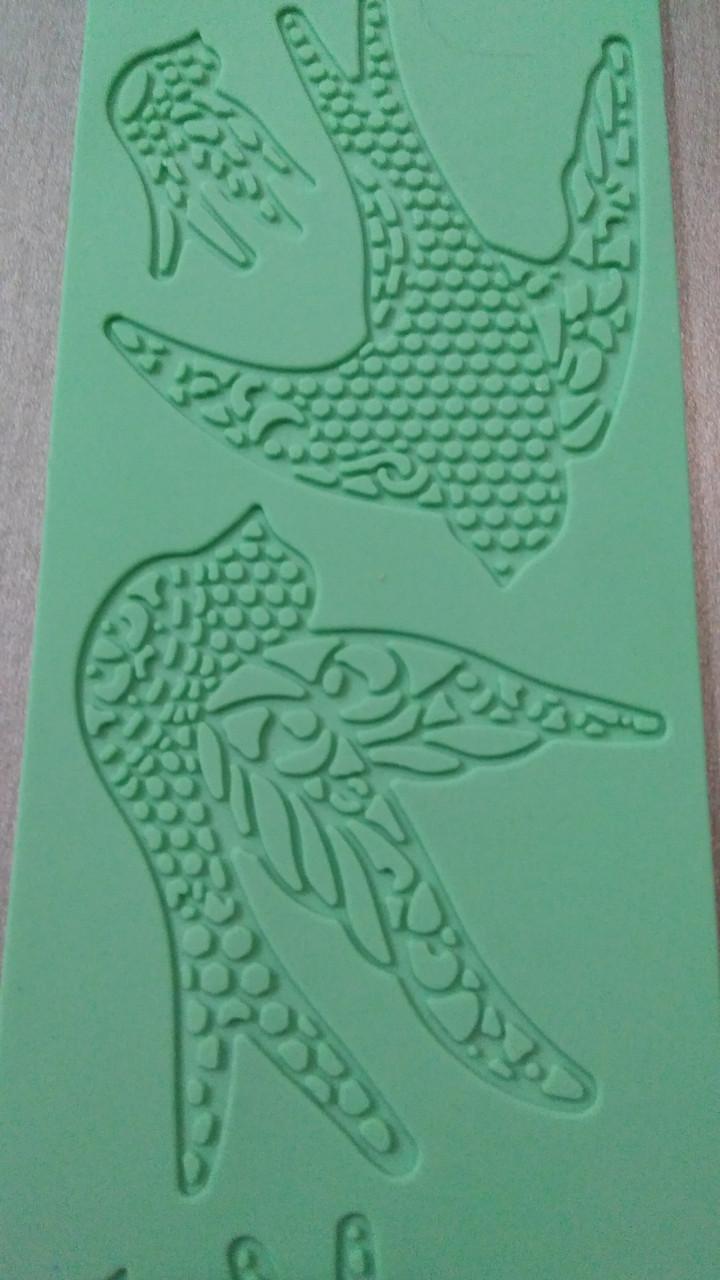 """Силиконовый коврик для кружев""""Lace Mat"""" ласточки Китай - 05924"""