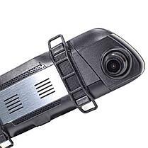 """Автомобильное зеркало видеорегистратор 10"""" Lesko Car K62 с камерой заднего вида 1080P WDR ночная съемка, фото 3"""