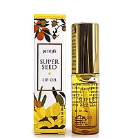 Масло с эффектом объемных губ PETITFEE Super Seed Lip Oil, 3 мл