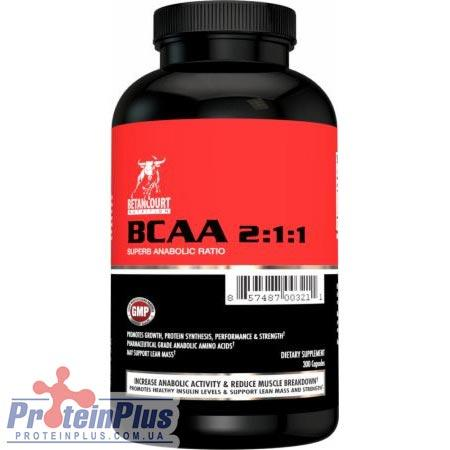 Аминокислота BCAA 2:1:1 (300 caps) Betancourt nutrition