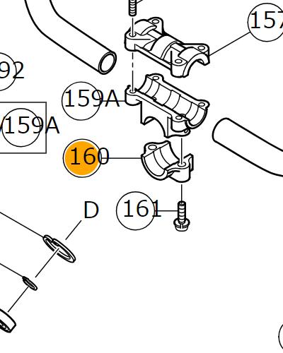 Фланец соединительный Hitachi/HiKOKI 6696578