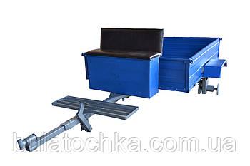 Тележка (прицеп) для мотоблока (1,3 х 1,75 м) под жигулевские ступицы (без покрышек и колес)