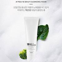 Очищающая пенка для лица  A'Pieu 18 Daily Cleansing Foam