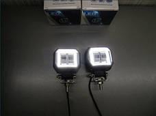Дополнительные LED фары GV-20W СТГ квадратные, с ДХО - 2шт.(8776), фото 2