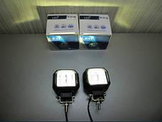 Дополнительные LED фары GV-20W СТГ квадратные, с ДХО - 2шт.(8776), фото 3