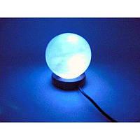 "Соляна лампа USB ""Шар"" (10х8х8 см) (Гімалайська сіль)"