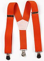 Подтяжки детские Y25 Top Gal оранжевые однотонные цвета в ассортименте, фото 1