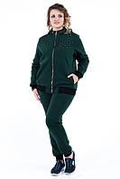 Женский теплый спортивный костюм Бэст жемчуг. Размер 52-56