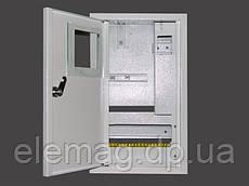 Шкаф под электронный счетчик+10 автоматов+УЗО врезной