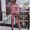 Женский повседневный костюм из замша на дайвинге, фото 2