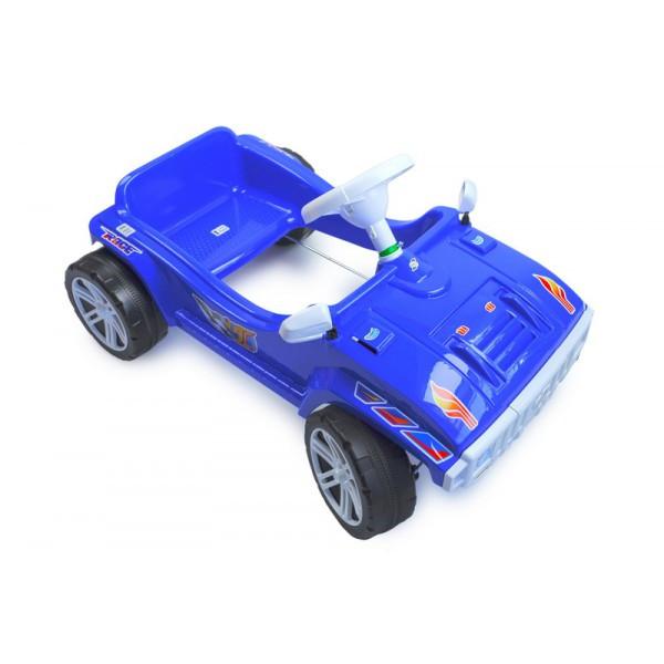 Машинка толокар синяя каталка педальная Орион 792