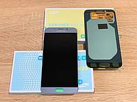 Дисплей на Samsung J730 Galaxy J7(2017) Серый(Silver),GH97-20736B, Super AMOLED!