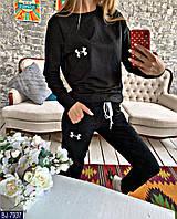Женский спортивный костюм серый черный бордо 42 44 46 48, фото 1