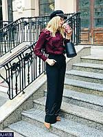 Женские брюки черные 42 44 46