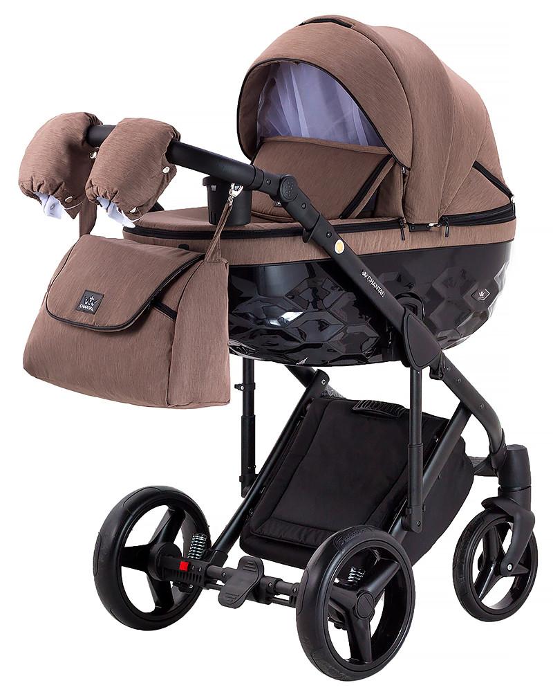Дитяча універсальна коляска 2 в 1 Adamex Chantal C223 (Адамекс Шанталь, Польща)
