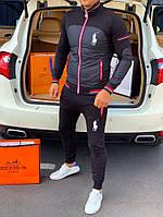 Спортивный костюм Polo by Ralph Lauren D148 черный