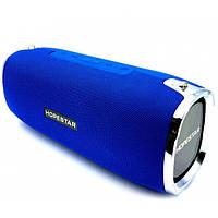 Портативная акустическая стерео колонка Hopestar A6, Синяя