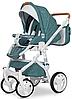 Дитяча універсальна коляска 2 в 1 Riko Brano Luxe 03 Malachit, фото 2
