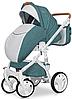 Дитяча універсальна коляска 2 в 1 Riko Brano Luxe 03 Malachit, фото 3