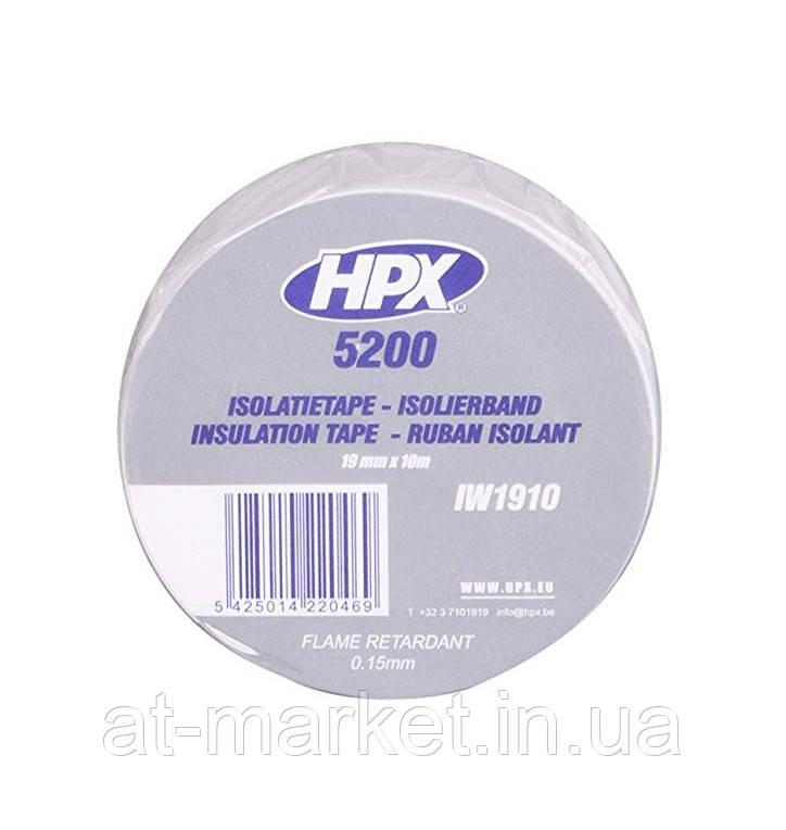 Изоляционная лента HPX 5200 19мм x 10м Белая