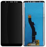 Дисплей для Meizu M8 Note (M822) + тачскрин, черный
