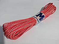 Шнур в'язаний кольоровий 4 мм 10 метрів, фото 1