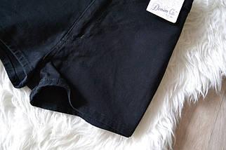 Новые джинсовые укороченные шорты на высокой посадке Denim Co, фото 2