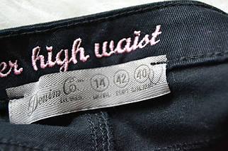 Новые джинсовые укороченные шорты на высокой посадке Denim Co, фото 3