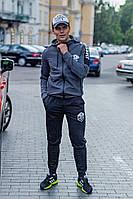 Мужской спортивный костюм  с капюшоном.Сл 1547