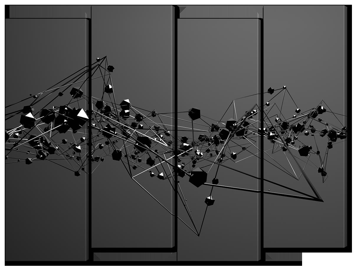 Модульная картина Interno Холст Головоломка 124х94см (R1157L)