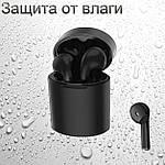 Беспроводные наушники блютуз гарнитура Bluetooth 5.0 Wi-pods X10 наушники с микрофоном Оригинал черные, фото 3