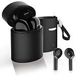 Беспроводные наушники блютуз гарнитура Bluetooth 5.0 Wi-pods X10 наушники с микрофоном Оригинал черные, фото 5