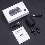 Беспроводные наушники блютуз гарнитура Bluetooth 5.0 Wi-pods X10 наушники с микрофоном Оригинал черные, фото 9