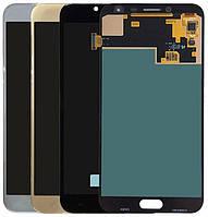 Дисплей для Samsung J400F Galaxy J4 (2018) + тачскрин, голубой, Lavenda, OLED, копия хорошего качества