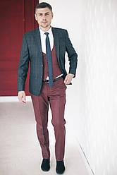 Мужской костюм-тройка West-fashion модель А Т-7