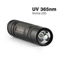 Фонарь Convoy S2+ 365nm Nichia UV (ультрафиолет), 1x18650