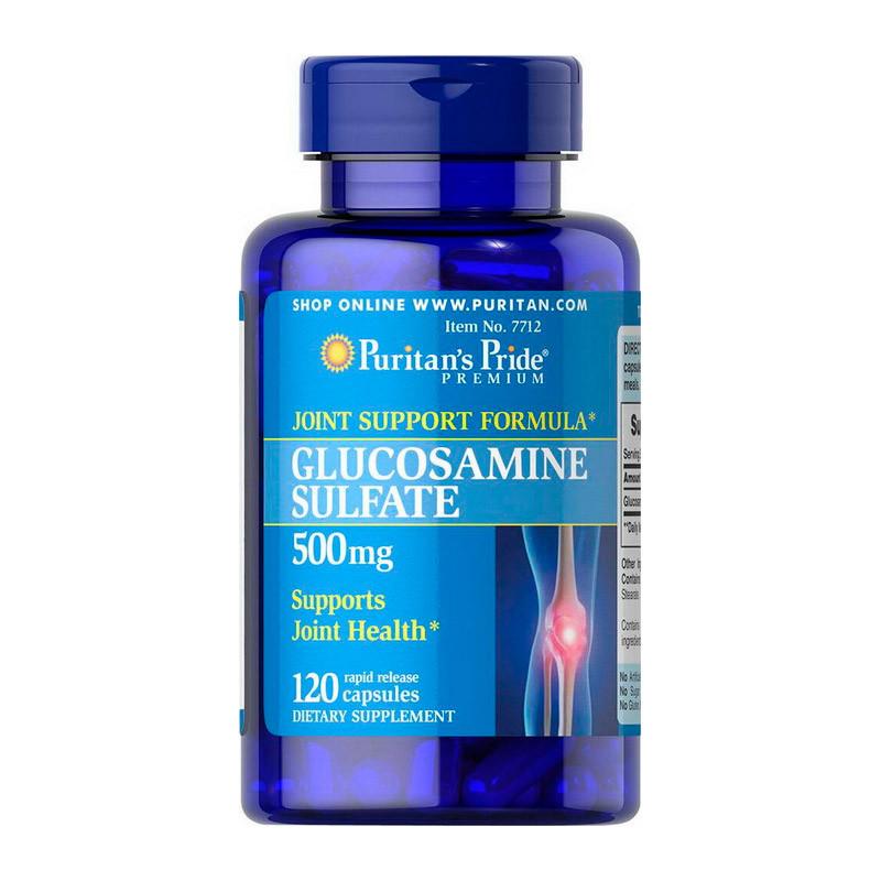 Glucosamine Sulfate 500 mg (120 caps) Puritan's Pride