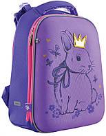 Рюкзак школьный 1 Вересня H-12 556050 фиолетовый 16 л