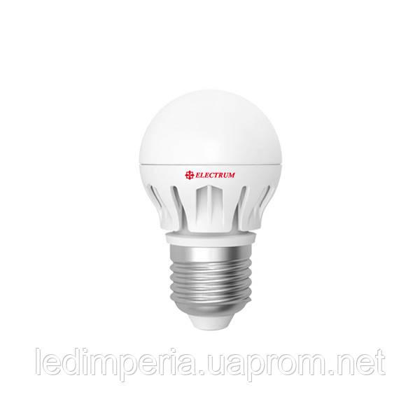 ELECTRUM LB-14 7W E27 2700K АЛЮМ. КОРП. A-LB-0491